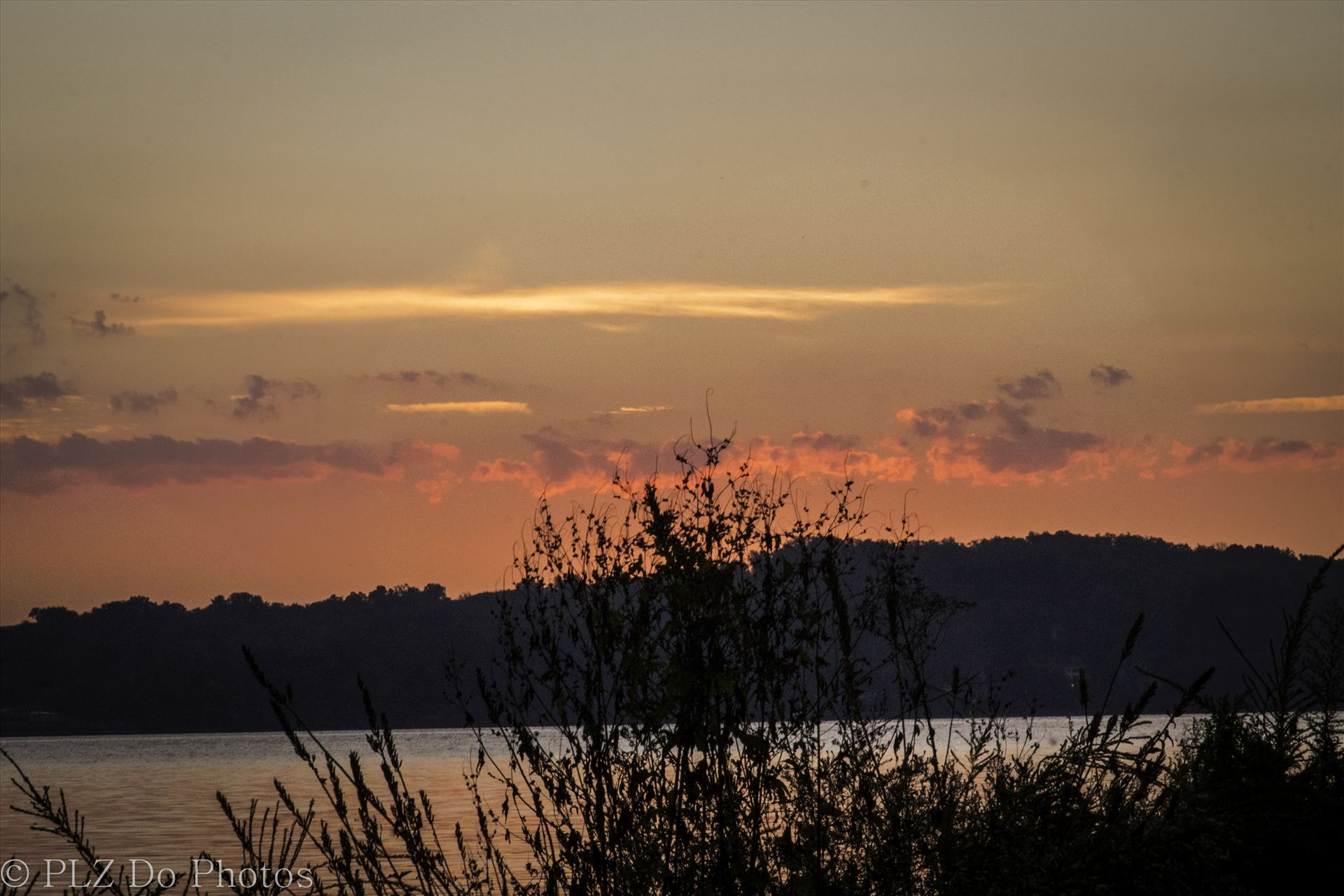 Fall Sunrise--3.jpg - Sunrise over the Potomac River. by Patricia Zyzyk